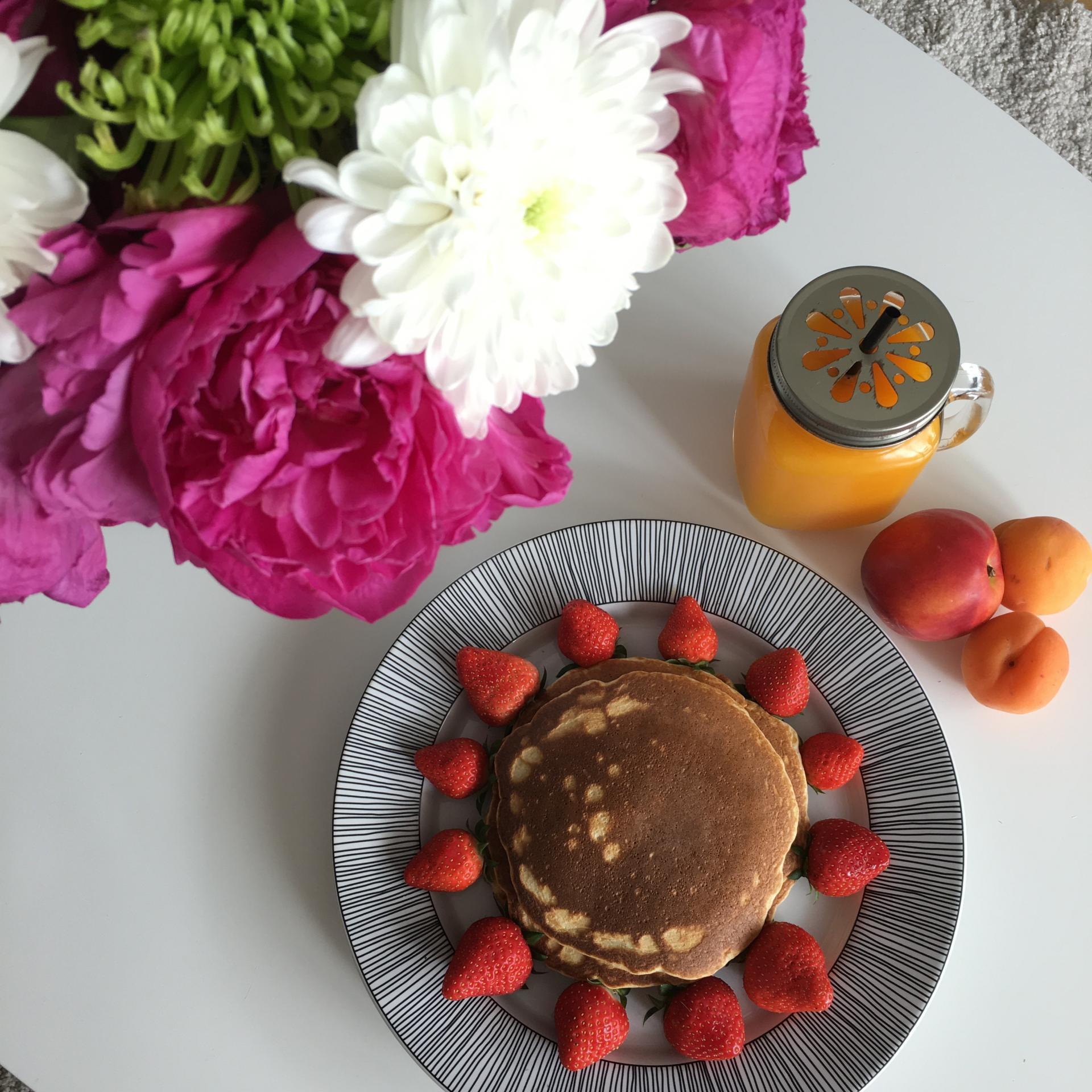 Ma recette de pancakes healthy | sains et gourmands