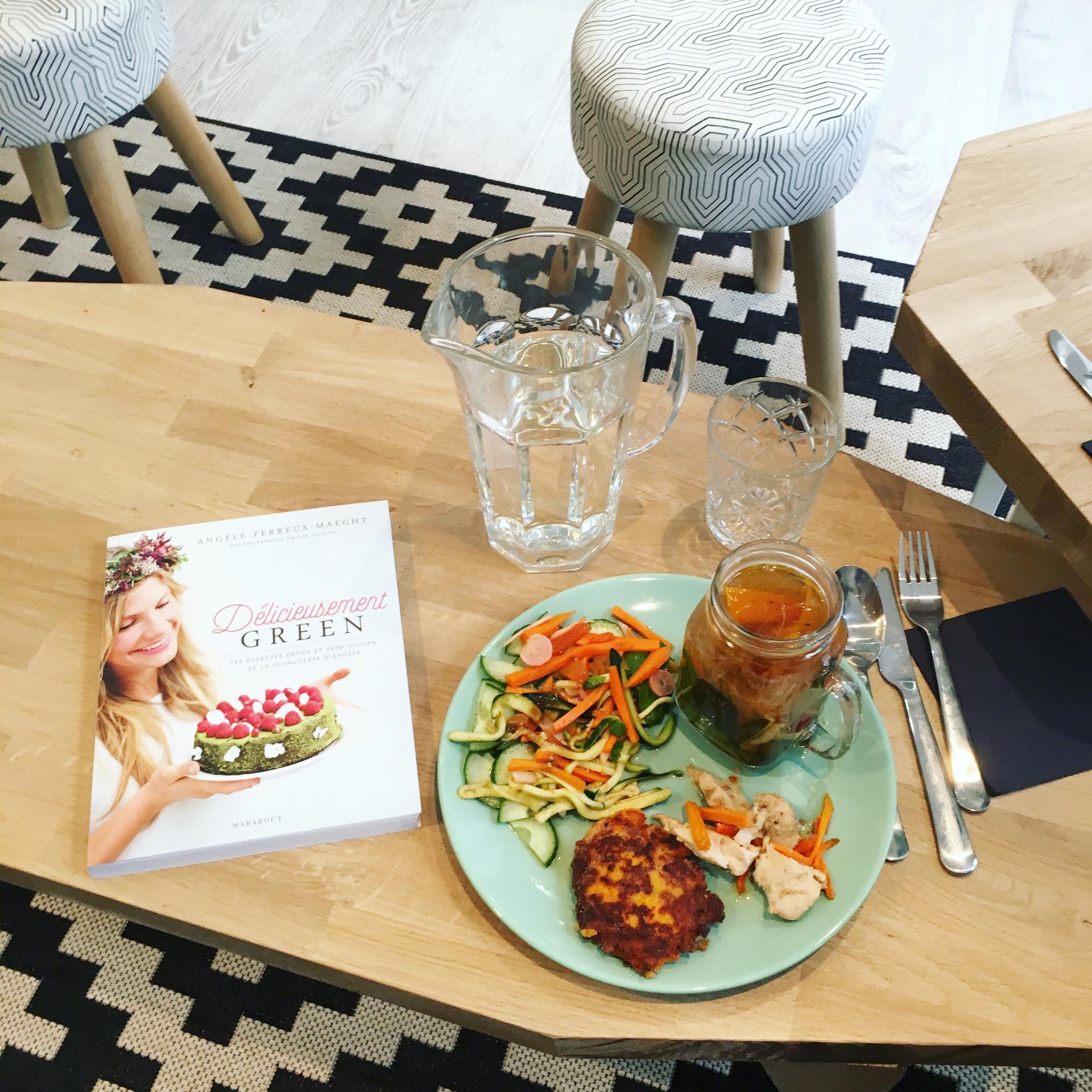 Mes adresses resto Healthy food à Paris