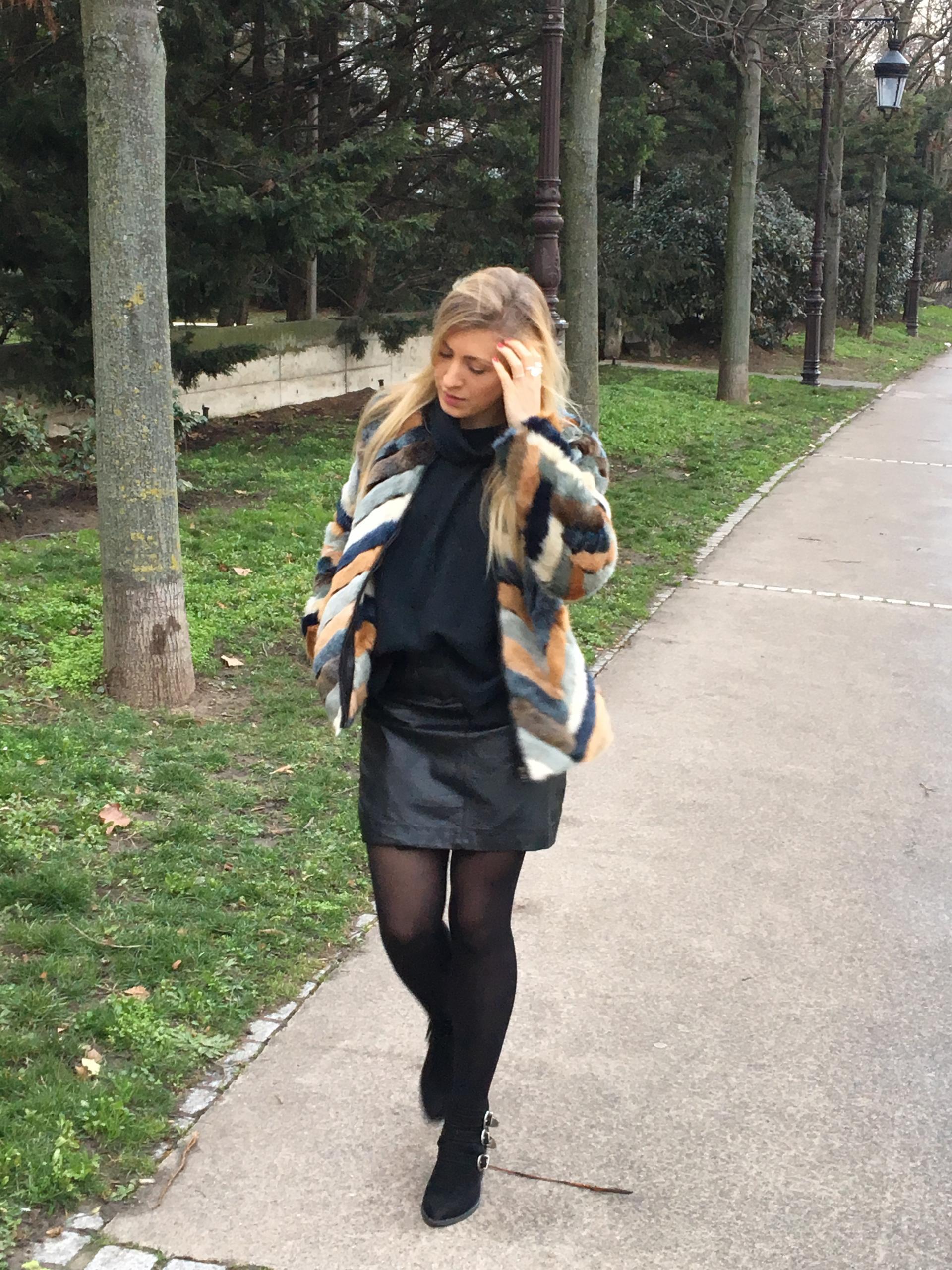 Mon beau manteau en fausse fourrure _ image 4