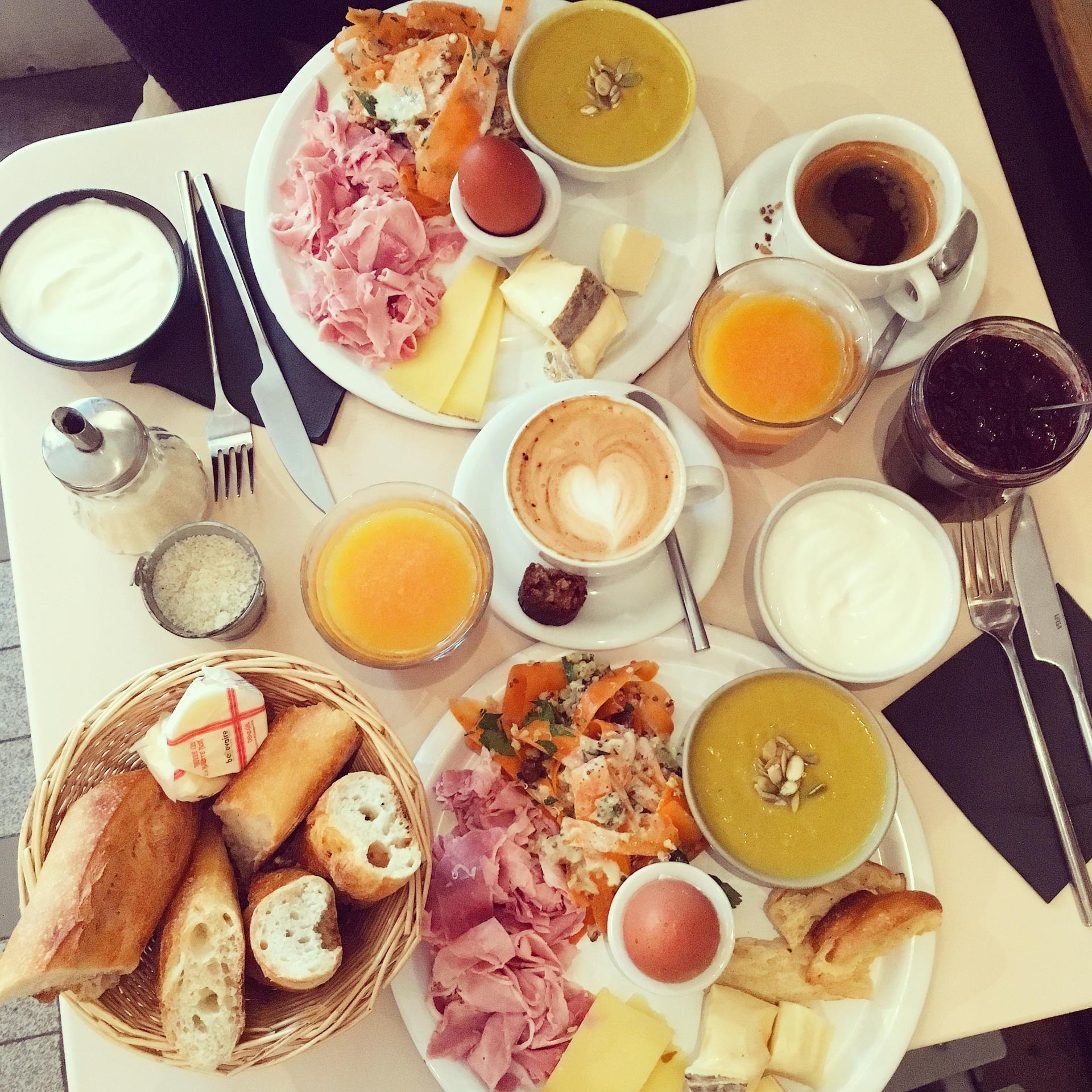 brunch healthy paris