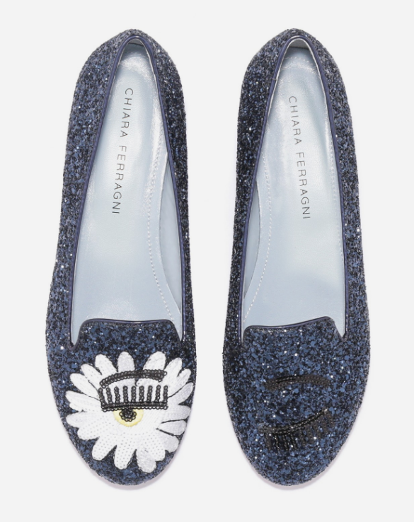 BLUE GLITTER EYES PAILLETTES PATCH - CHIARA FERRAGNI