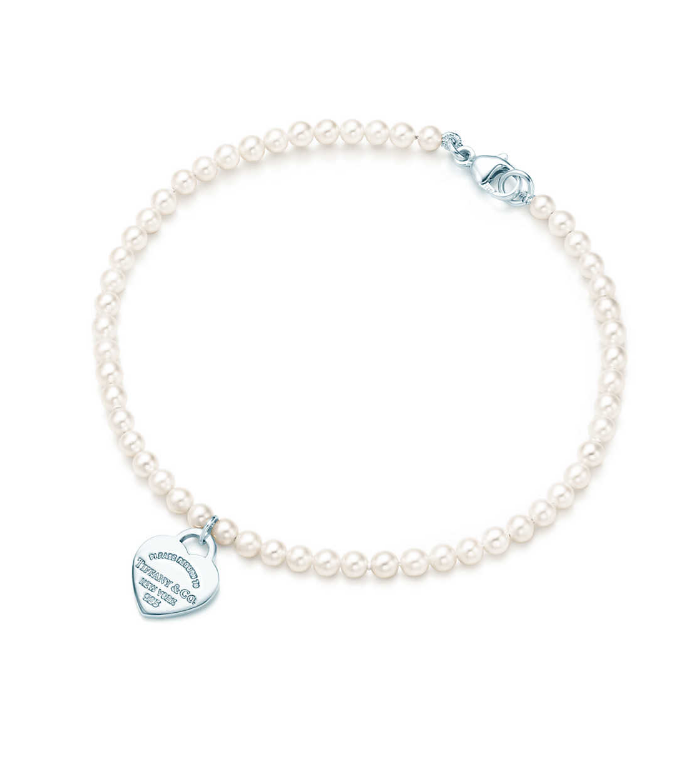Bracelet de perles blanches Return to Tiffany™ - Tiffany