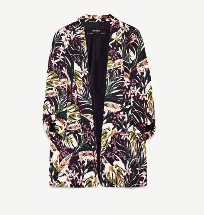 Veste multicolore - Zara