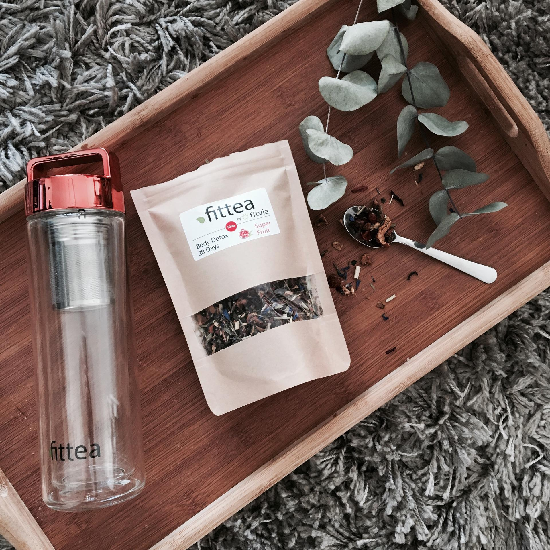 Cure détox, j'ai testé le Fit Berry Body Detox Tea de Fittea 🍵🌿🍃 + Code promo