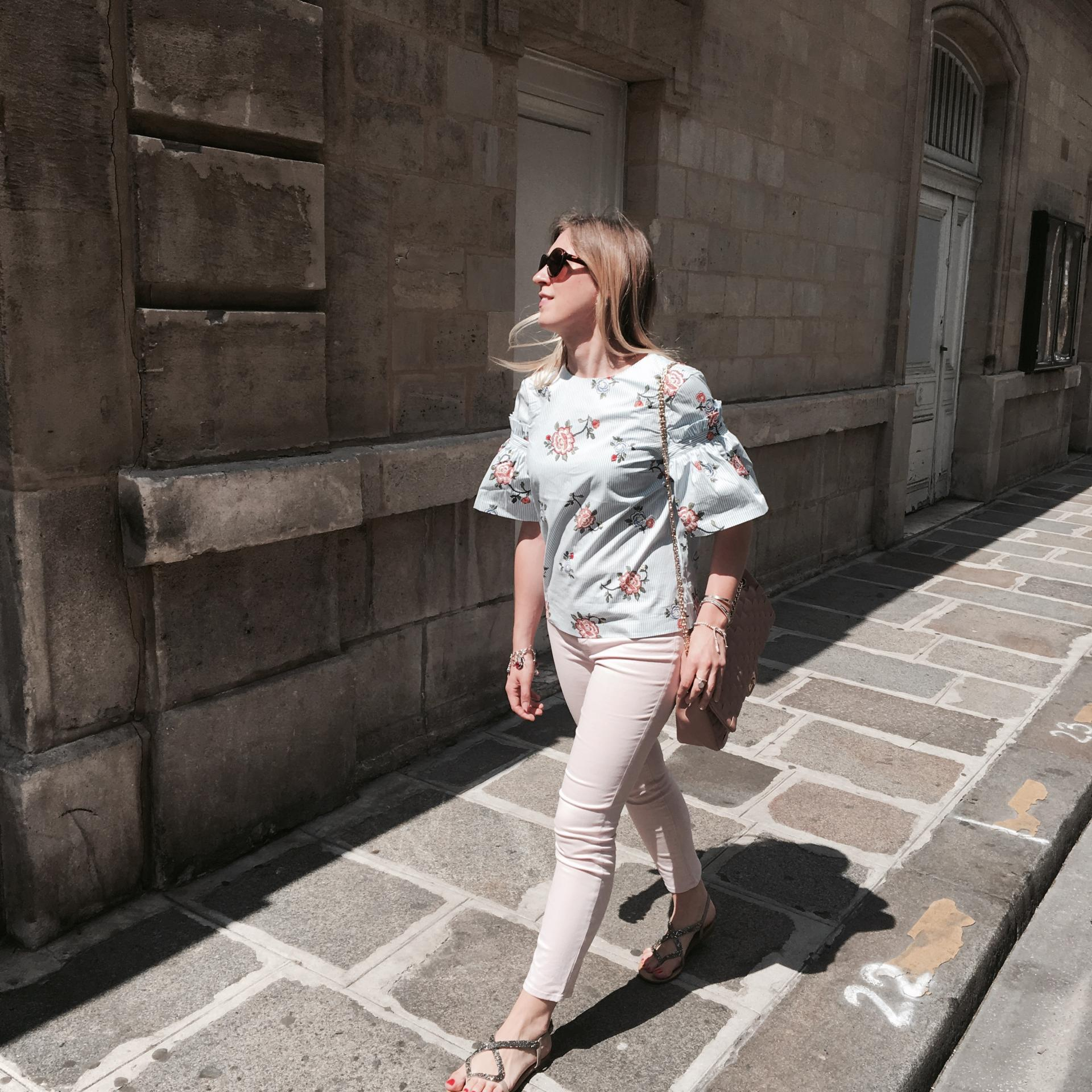La jolie blouse à volants 👚🎀💕 + code promo H&M