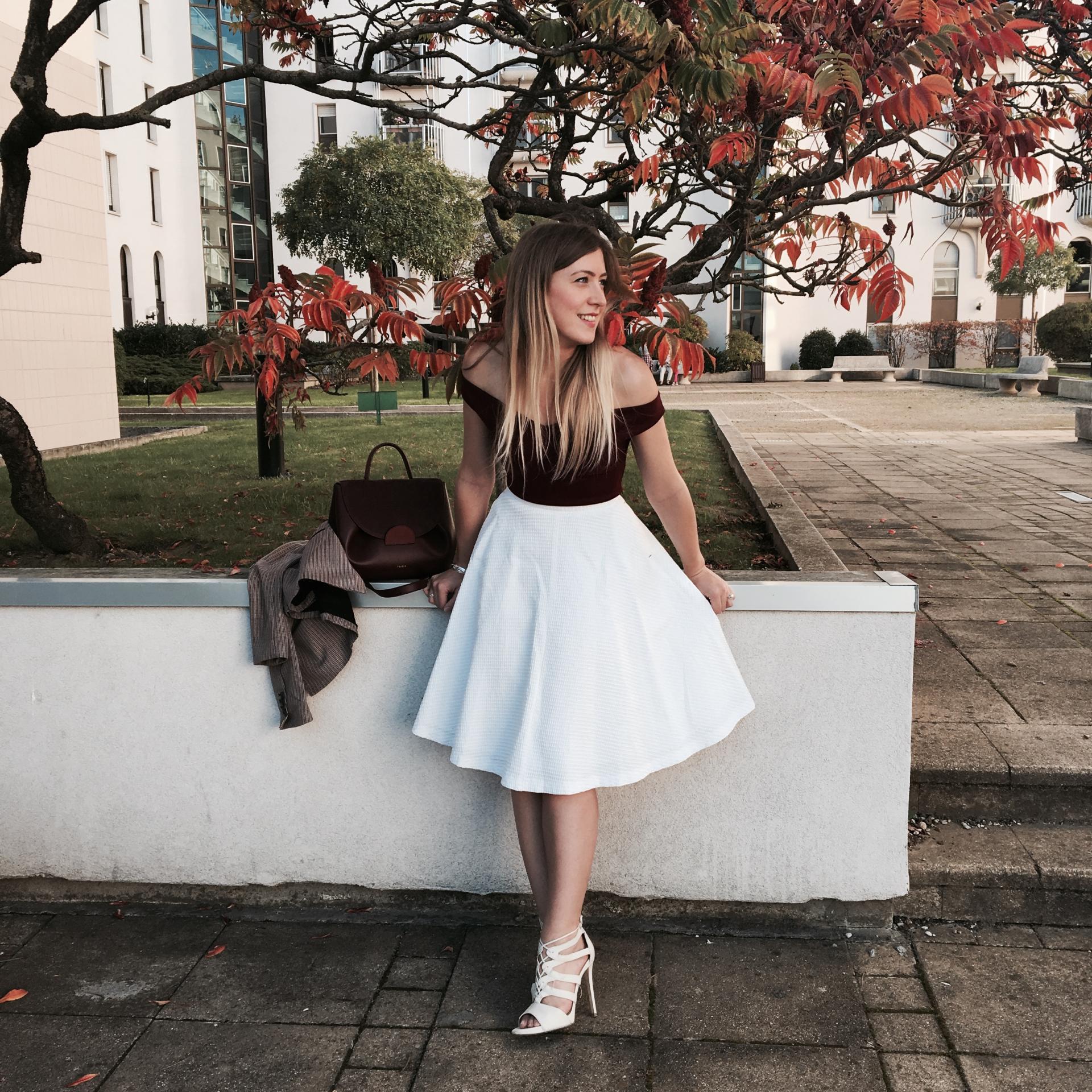 Sharefashion - Eté indien : look de mi-saison et sac chouchou
