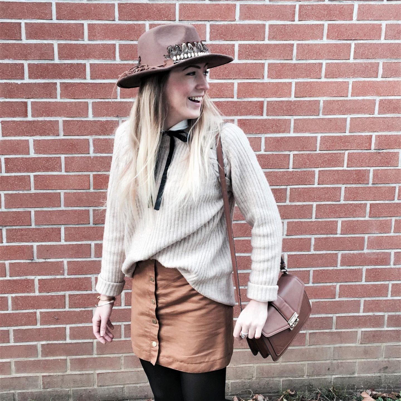 Comment porter la jupe en automne ?