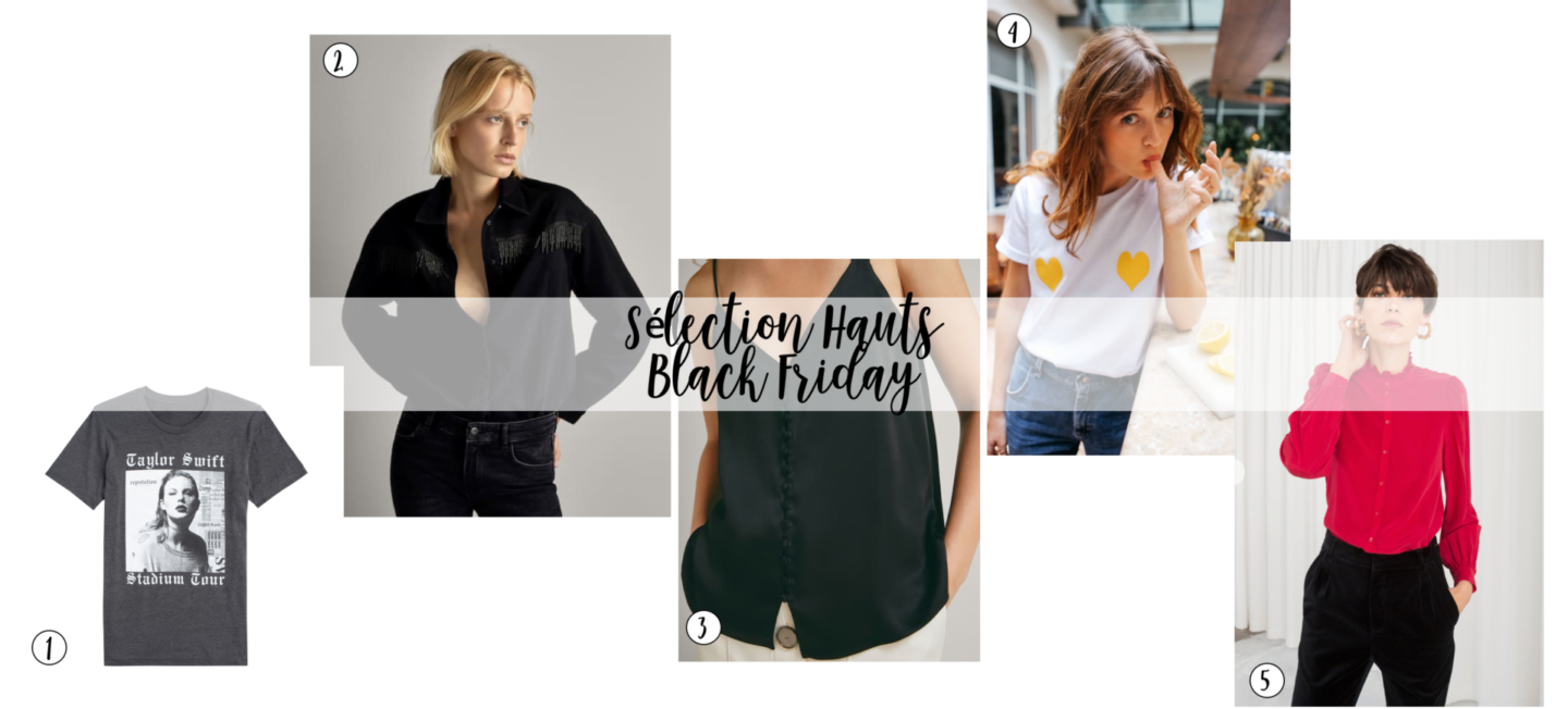 sharefashion - sélection hauts black friday 2018