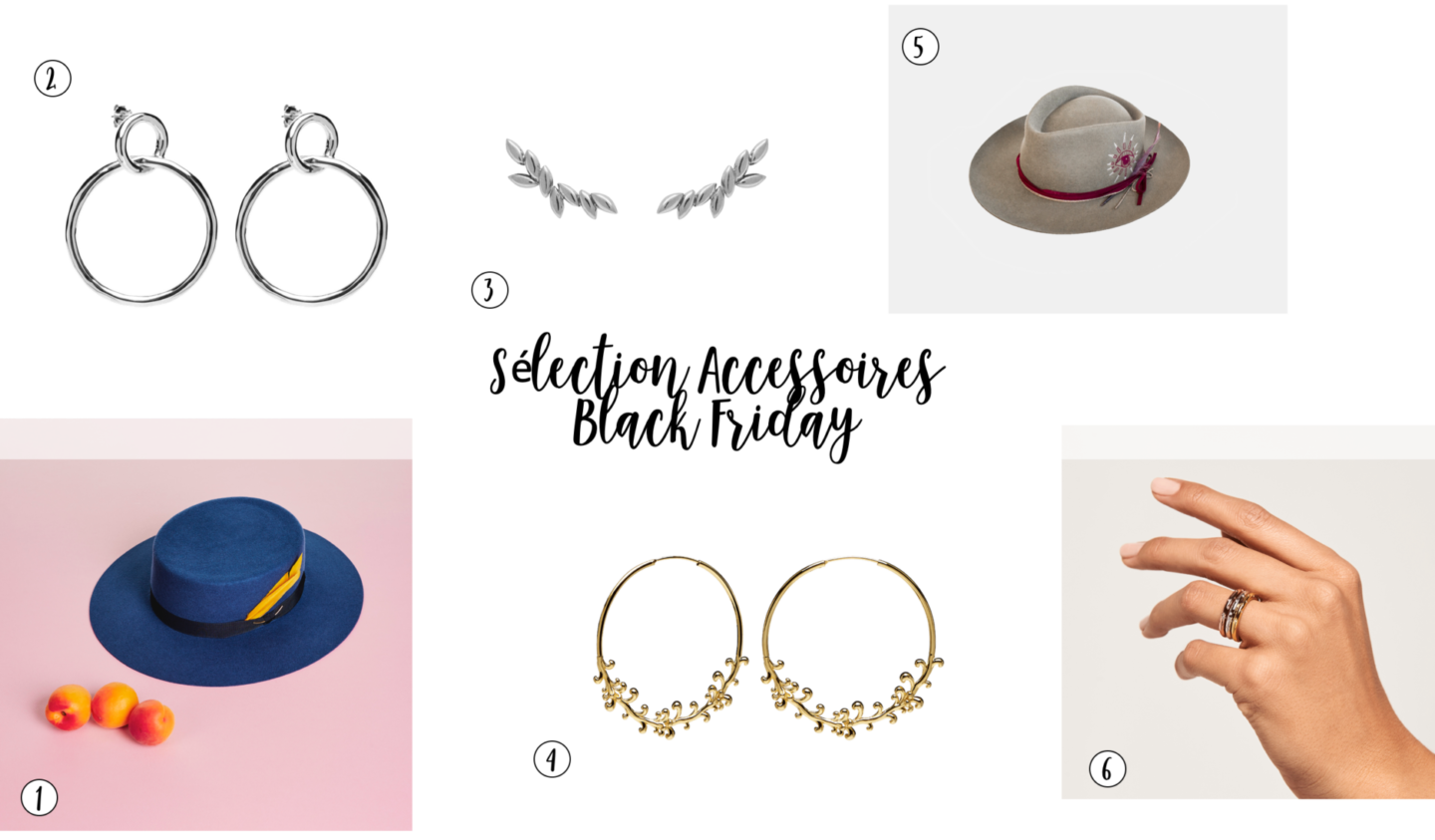 sharefashion - sélection bijoux black friday 2018