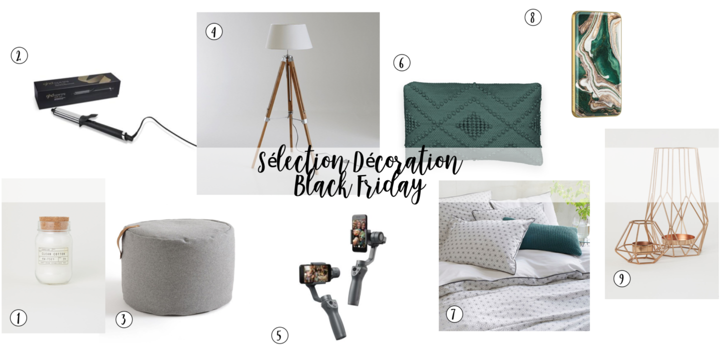 sharefashion - sélection déco black friday 2018