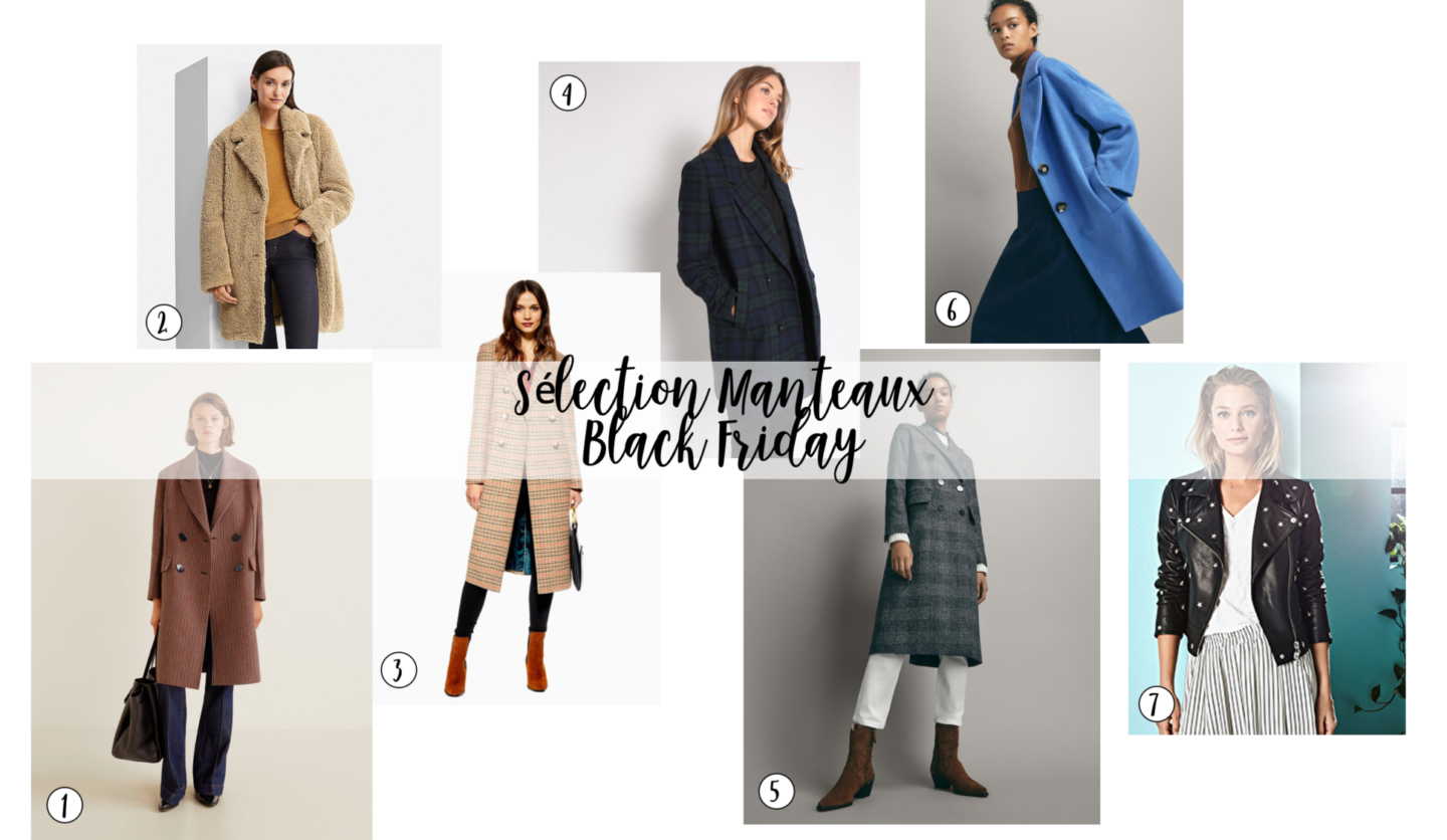 sharefashion - sélection manteaux black friday 2018