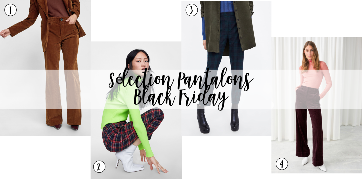 sharefashion - sélection pantalons black friday 2018
