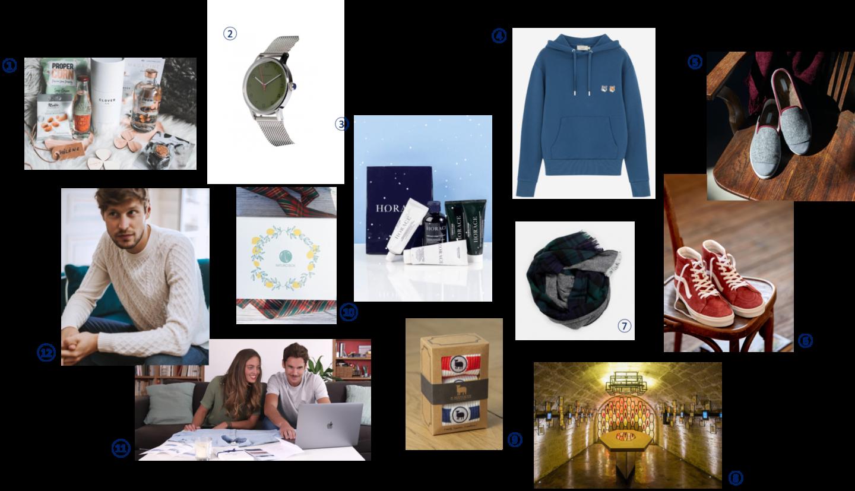 sélection idées cadeaux noel homme 2019