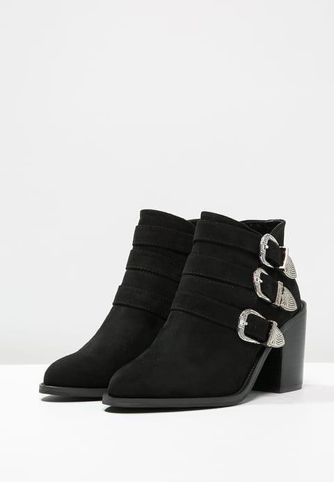 BOTTINES Santiags noires - LOST INK ZALANDO