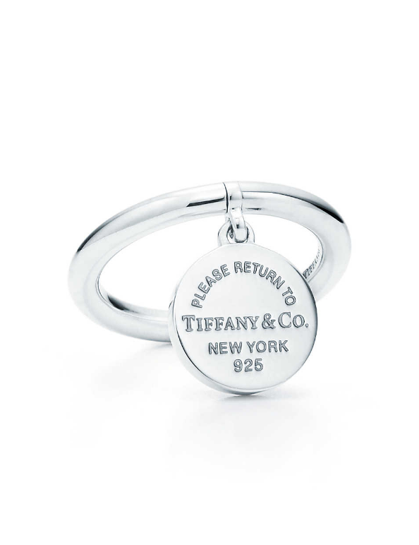Bague Plaque ronde Return to Tiffany™ - Tiffany
