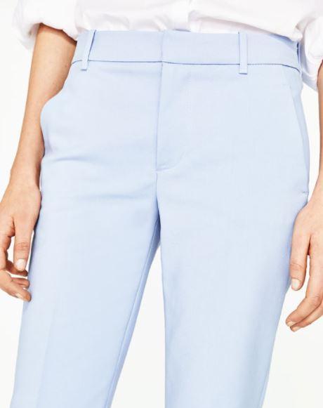 Pantalon chino bleu ciel - Zara