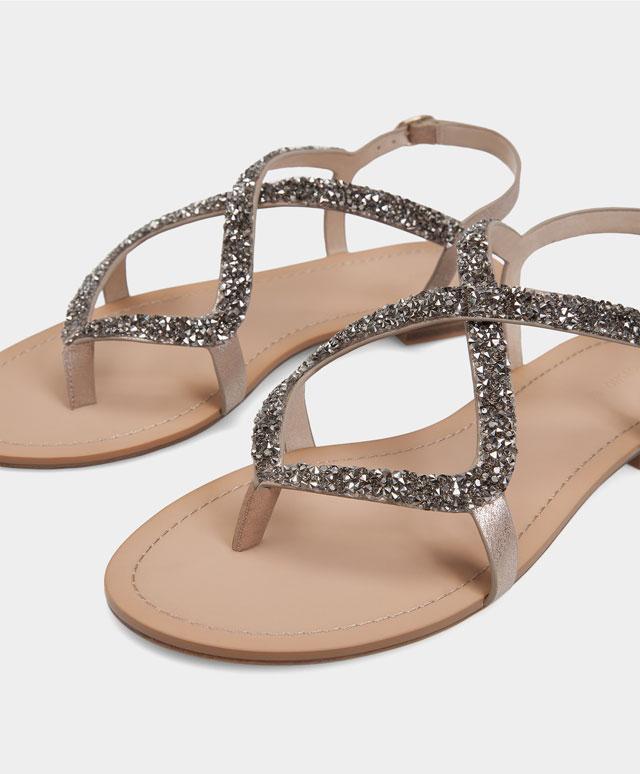 Sandales bijoux - Oysho